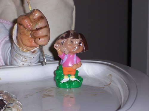 Do YOU See Something Dora Can Clean up With? by you.