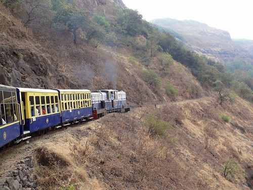 Neral - Matheran Toy train by