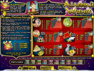 Aladdin's Wishes free game