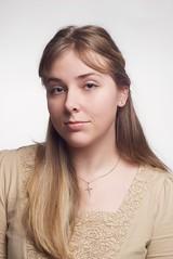 Katie (nickburlett) Tags: girl katie retouch seamlessbackground strobist