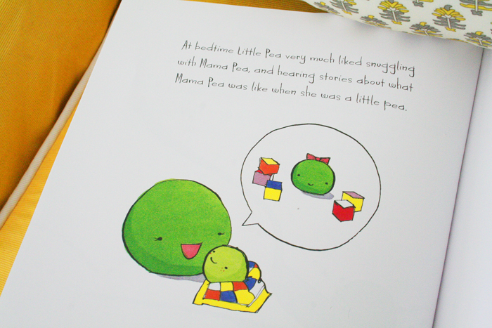 Page from Little Pea