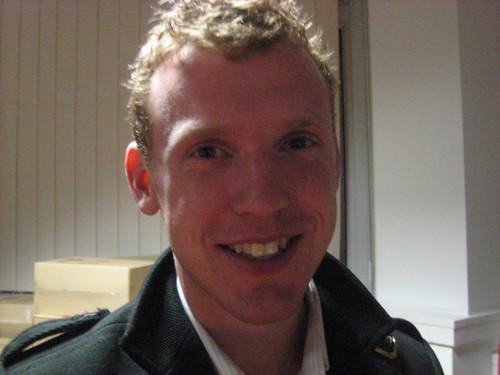 Ben Matthews at nfptweetup, February 2009
