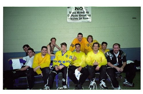 Team Beer photo circa 2000