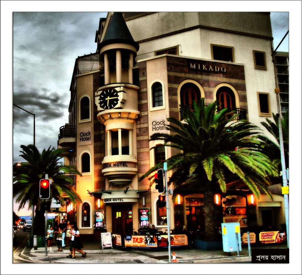 The Clock Hotel, Gold Coast, Queensland, Australia.