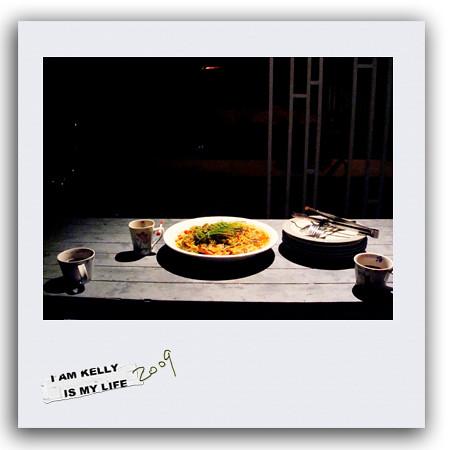 你拍攝的 四月台東-晚餐是天晴民宿老闆請客。