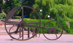 Stockholm gear statue (bryanDeldridge) Tags: sweden stockholm scandanavia