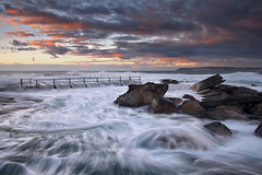 Relentless (Tim Donnelly (TimboDon)) Tags: ocean sea rocks australia nsw cokin curlcurl