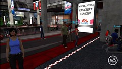 EA SPORTS Complex in PlayStation Home screenshot racing 1