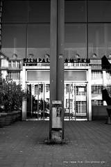 Entrance / Exit (j.0.3.) Tags: white cinema black karlsruhe tr zkm sule filmpalast