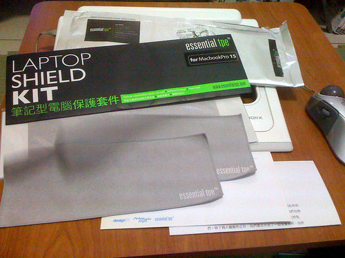 essential tpe laptop shield kit - 2