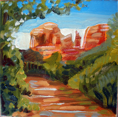 For BCooner (EllenJo) Tags: summer arizona usa art painting artwork sedona canvas cathedralrock verdevalley oakcreek redrockcountry sedonaart ellenjo ellenjoroberts july2009 summertimeinarizona thankyoubc oakcreekart