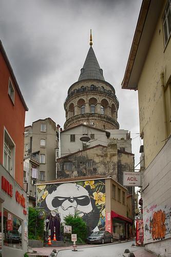 Galata Tower. Istanbul ©  Andrey Korchagin