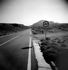 _ (how will i ever) Tags: 6x6 toycamera greece ilfordhp5 squareformat crete speedlimit greekislands holga120cfn highwaytohell  murplejne holgaholic    nostopsigns nobodysgonnaslowmedown