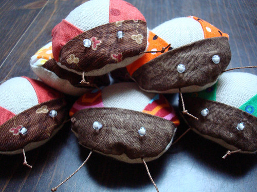 bug pincushions 2