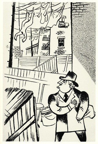 Graphic Novel illustration by William Gropper