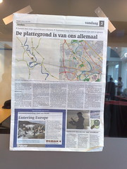 OpenStreetMap on the newspaper (nighto) Tags: netherlands amsterdam holanda ccc openstreetmap amsterd stateofthemap sotm09 upcoming:event=1813246