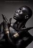 Piye - Nubian Pharaoh (skinr) Tags: portrait egyptian malemodel maledancer piye wwwjskinnerphotocom jasonjamesskinner nubianpharaoh metallicjetblackbodypaint