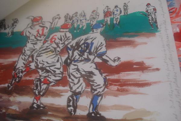 Pettibon ballplayers