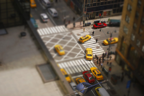 NYC street corner