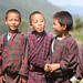 Portrait of kids in Jongkhar