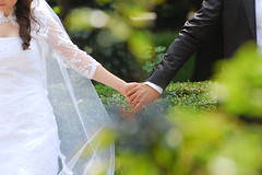 [フリー画像] [人物写真] [一般ポートレイト] [恋人/カップル] [結婚式/ブライダル] [手] [握手/手をつなぐ]     [フリー素材]