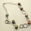 Large Paper Bead Bubble Necklace
