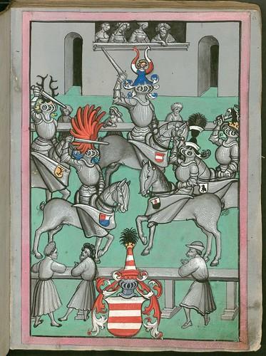 Ludwig von Eyb - Turnierbuch h