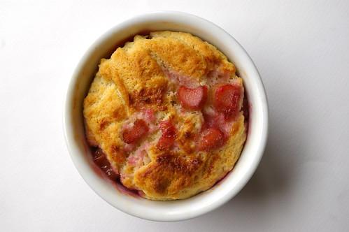 Rhubarb Pudding Cake I