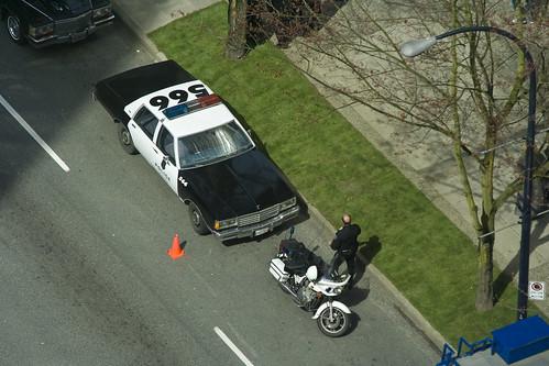 La police Américaine à Vancouver