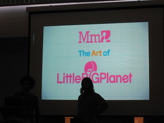 Keynote: the art of little big planet IMG_9938