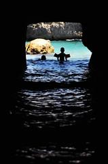 (marco zeppetella) Tags: sea italy italia tunnel marco 2009 puglia roca adriatico braccioli zeppetella