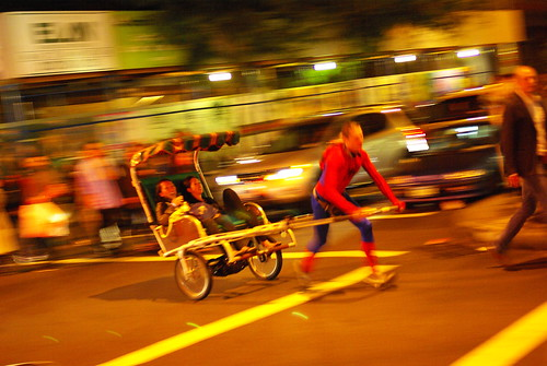 Spiderman Rickshaw
