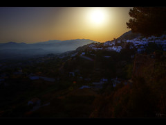 The sunset (Kaj Bjurman) Tags: sunset costa sol del eos spain espana valley 5d hdr mijas kaj mkii markii cs4 photomatix bjurman