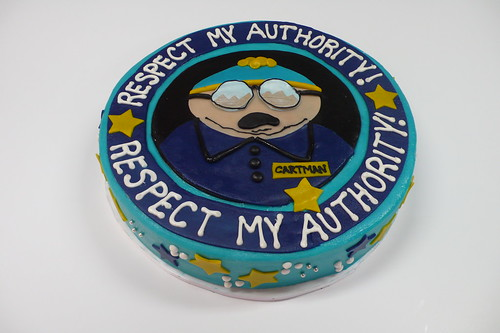 Respect My Authority! Cartman cake