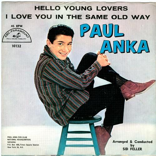 12 - Anka, Paul - Hello Young Lovers - US - 1960