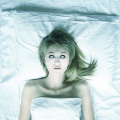 chasing this with eyes scorned from sleep apnea (holly henry) Tags: portrait photomanipulation self lyrics zombie chevelle manip eyeless scificrimes chasingthiswitheyesscornedfromsleepapnea igaspandholdmybreath theseneedshavechangedsodeep ivebeenawakeforever tofaceyouallandsay