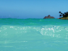 (lindilindi) Tags: ocean blue sea beach water ga island hawaii oahu turquoise wave prints glassy kailua lanikai hawaiiset colorphotoaward gettyinvited beachesset