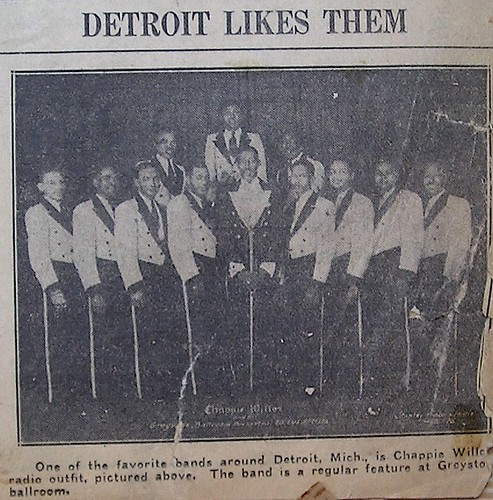 Detroit Likes Them: Chappie Willet and His Greystone Ballroom Orchestra