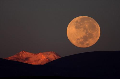 Bolivia moon