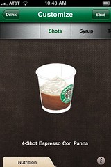 Quad con panna iPhone style