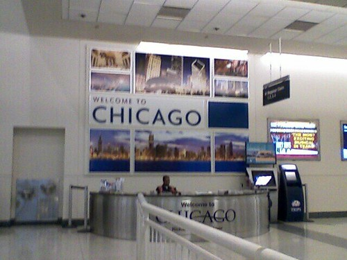 The Eager has landed at Chicago Midway Airport!