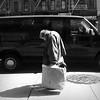 The Weight of the World (antonkawasaki) Tags: shadow portrait blackandwhite bw sad candid streetphotography sidewalk squareformat manholecover iphone 500x500 blackvan heavyjacket theweightoftheworld spicedchicken ©antonkawasaki oldmanwithheaddown walkingandcarryingbags itshardtolookup whenyourealwayslookingdown apartmentbuildingsinbackground bombayindiancuisine mobilephotogroup