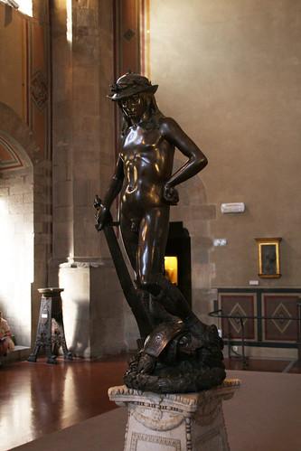 Donatellos David in the Bargello Museum