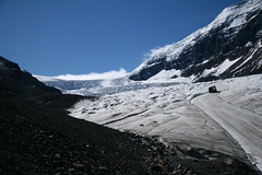 Distant Planet? No - Athabasca Glacier Jasper National Park Canada Sept 2009 XTi-0700 (Pisces With Camera) Tags: wallpaper canada calgary nature canon outdoors edmonton screensaver alberta columbiaicefield athabascaglacier xti canoneosdigitalrebelxti