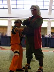 Cosplay - AWA15 - Naruto Uzumaki and Jiraiya (mikemol) Tags: cosplay awa jiraiya animeweekendatlanta narutouzumaki animeweekendatlanta15 awa15 awa2009 animeweekendatlanta2009