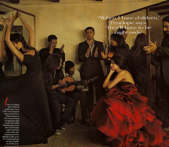 penelope cruz vogue. Pen彬ope Cruz#39; Vogue Photos