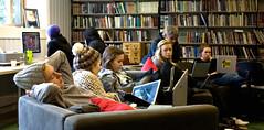 Biblioteket, Solborg folkehøgskole