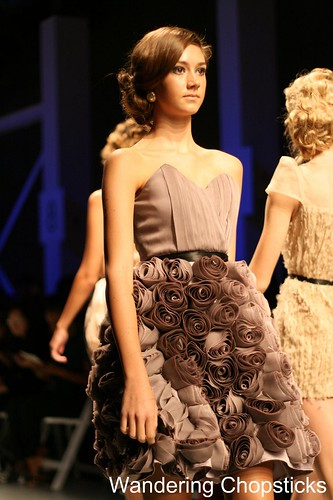 Femme Noir by Phong Hong Debut at Downtown Los Angeles Fashion Week Fashion Angel Awards Emerging Designers Runway Show 20