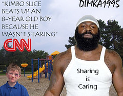 Kimbo Slice Beats up an 8-year old (dimka1995) Tags: up is slice beat sharing caring kimbo dimka1995