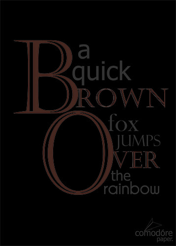 aquickbrownfoxjumpsovertherainbow